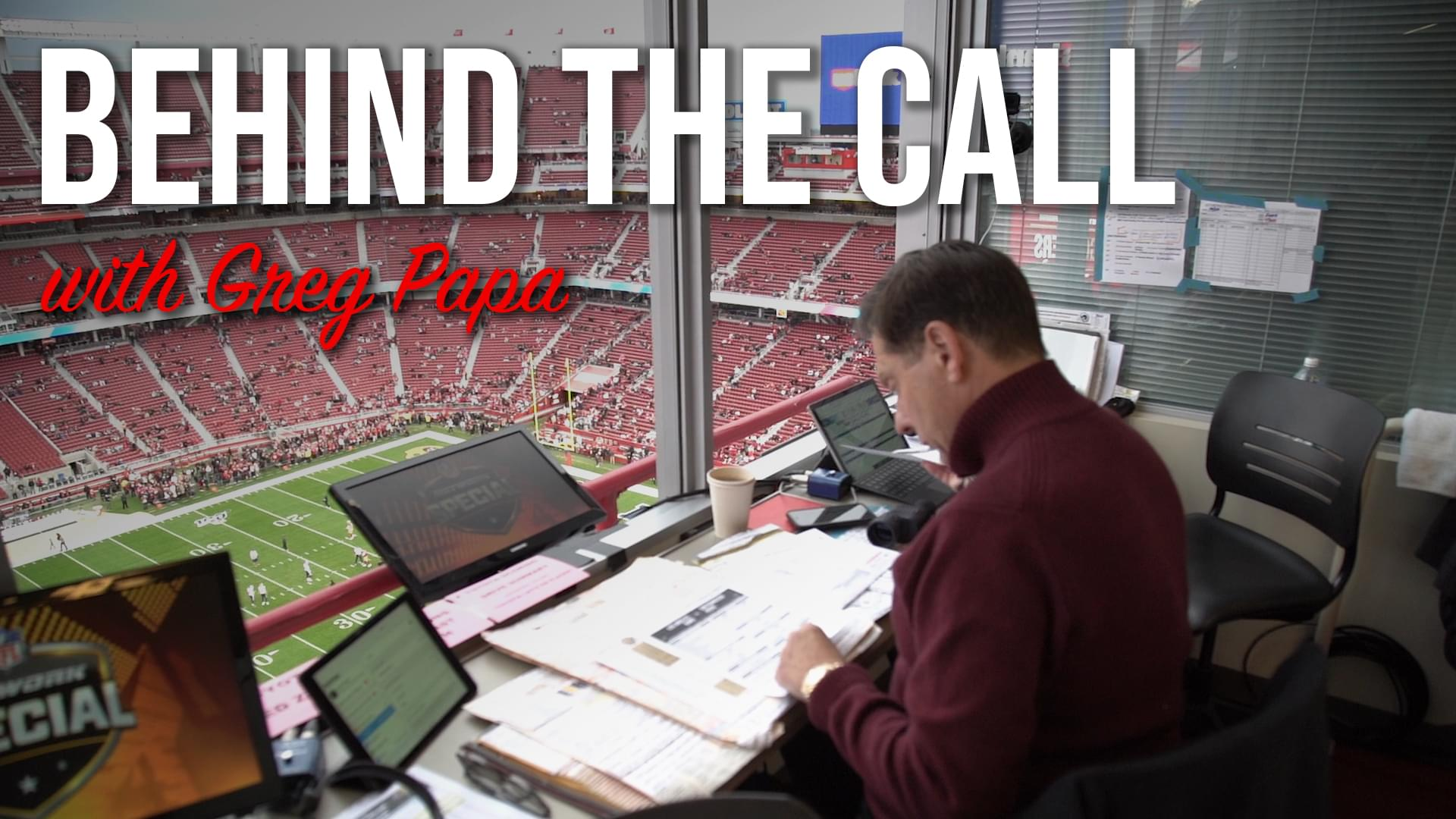 Behind the call: Inside a gameday for 49ers broadcaster Greg Papa