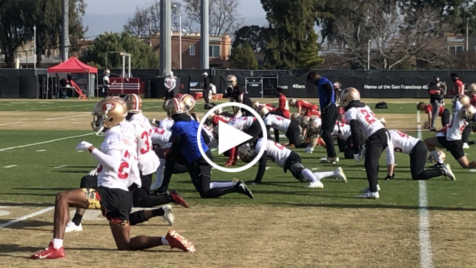 Kwon Alexander returns to 49ers practice as team opens return window
