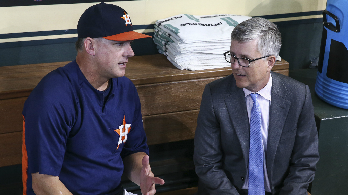 Astros manager Hinch, GM Luhnow fired for sign stealing