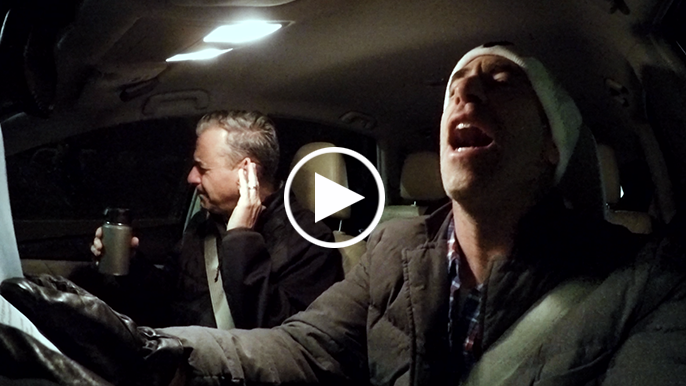 CarFool Karaoke: Mark Willard loses a bet to Brian Murphy