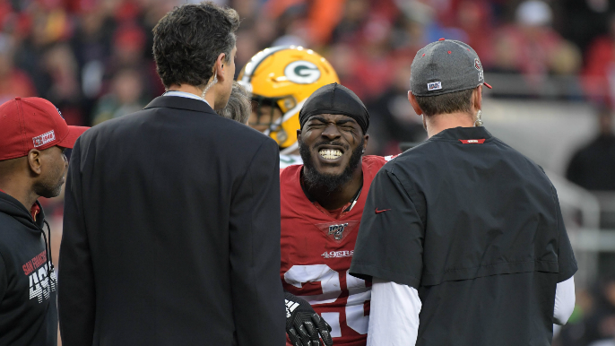 49ers give final injury report, coaches get pranked by players in last practice