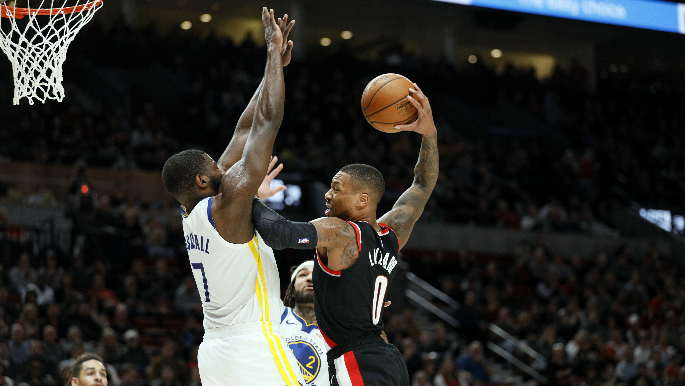 Warriors can't survive Lillard's career-high 61 in overtime despite stellar showings from Burks, Paschall