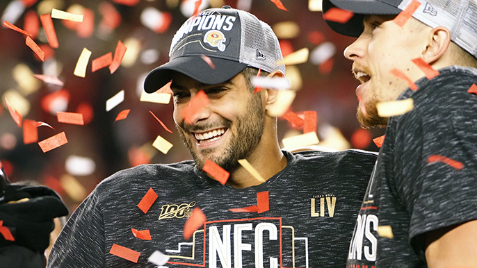 Joe Montana defends Jimmy Garoppolo, states 'scariest' part of defending Mahomes
