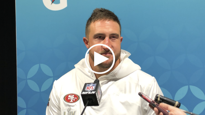 Joe Staley's emotional postgame realization belies unfortunate reality
