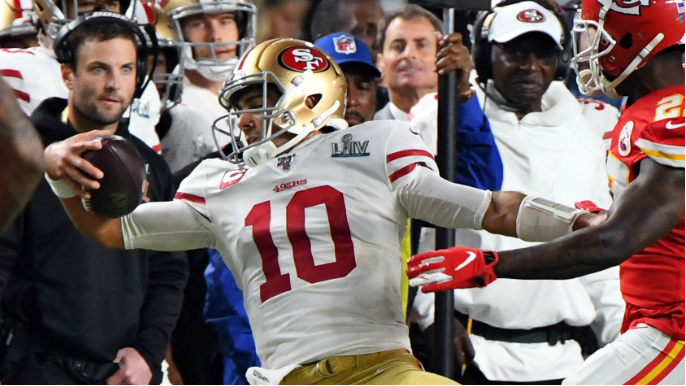 Chiefs star takes last shot at Jimmy Garoppolo and his hefty contract