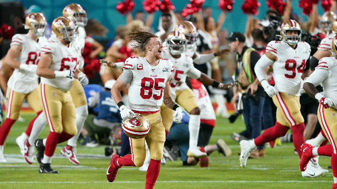 49ers announce 10 team awards for 2019 season