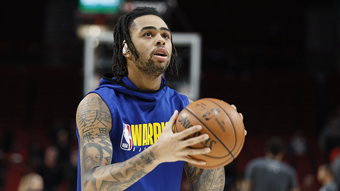Warriors swap D'Angelo Russell for Andrew Wiggins and two draft picks [report]
