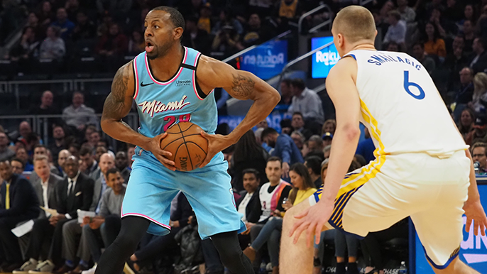 Warriors fall to Heat, but provide more cause for optimism in Iguodala's return