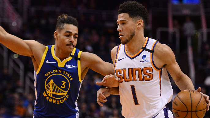 Three takeaways after Warriors lose in Phoenix, but get burst from unlikely source