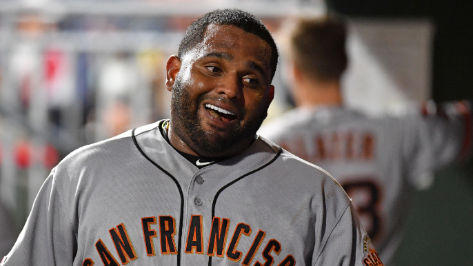 Pablo Sandoval arrives, didn't 'want to make the same mistake' twice
