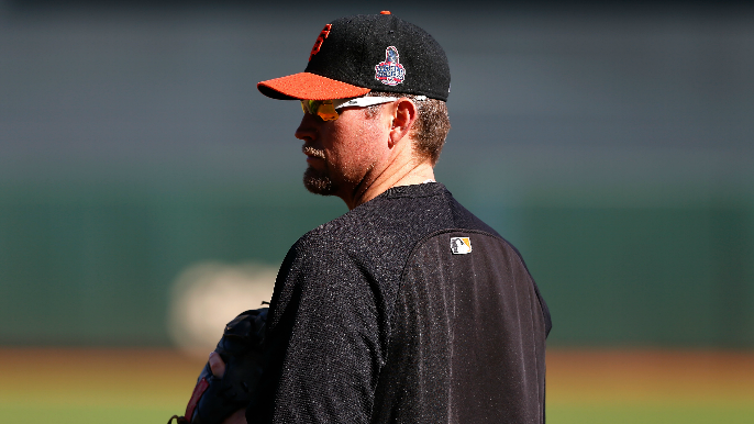 Buster Posey staying out of Giants' Aubrey Huff decision