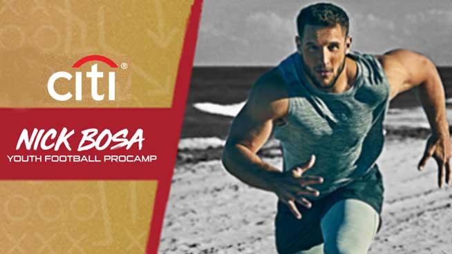 June 6th – June 7th Nick Bosa Football ProCamp