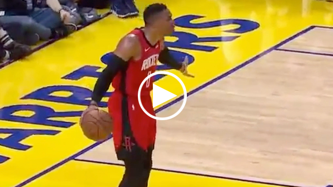 Russell Westbrook ejected as Warriors' loss to Rockets gets testy late