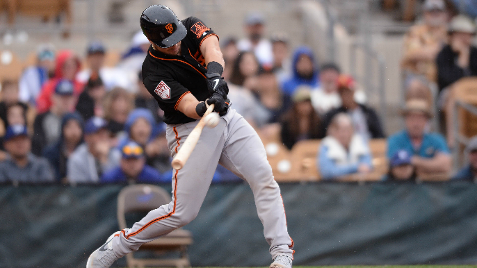Joey Bart impresses Giants fans with bat and words