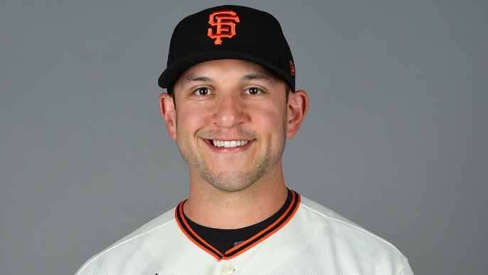 Giants' first spring standout thinks he's finally turned the corner