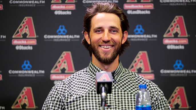 Madison Bumgarner has been competing in rodeo events under the alias Mason Saunders [report]