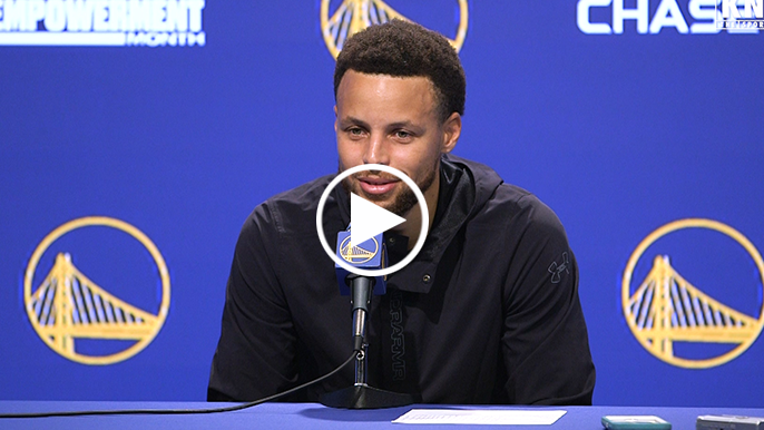 Stephen Curry recounts weirdest part about his return