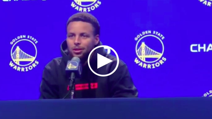 Stephen Curry describes what it might be like to play game without fans