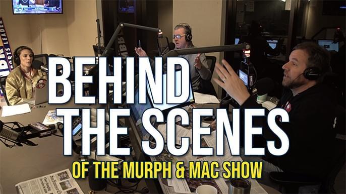 Behind the scenes of The Murph & Mac Show