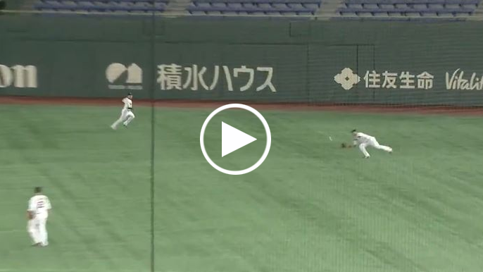 Ex-Giants in Japan! Let's watch these highlights because it's actual baseball