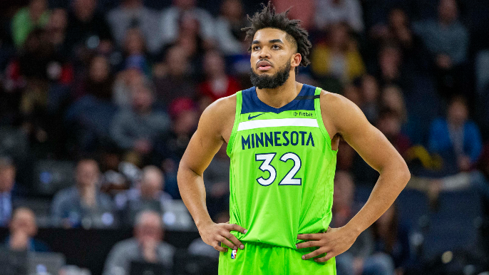 Emotional Karl-Anthony Towns reveals mother has coronavirus and is in coma