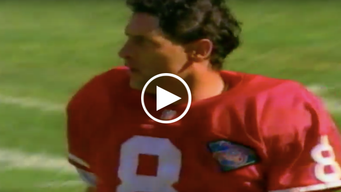 Steve Young recounts the most upset he ever was on a football field