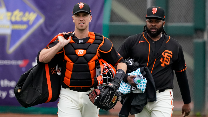 What would Giants' lineup and roster have looked like on this 'Opening Day'?