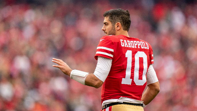 The 49ers' master plan may be a bet on Jimmy Garoppolo