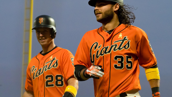 Who's your favorite Giant from 1990-2009? Brandon Crawford wants to know