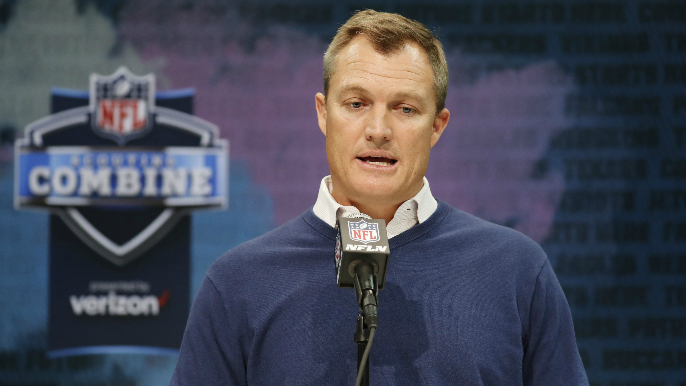Barrows speculates which player is at the top of John Lynch's draft board