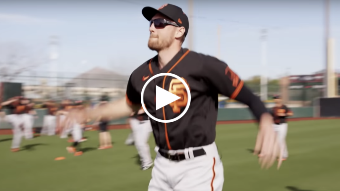 Here's four wildly entertaining minutes of a mic'd up Hunter Pence