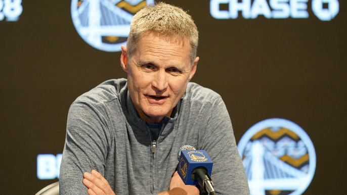Steve Kerr is not doing video chats with players, calls it 'fake hustle'