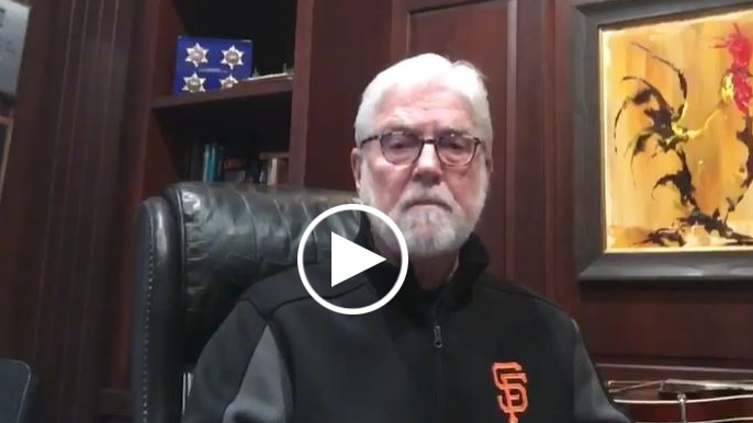 Mike Krukow has poetic message for Giants fans on 'Opening Day at Home'