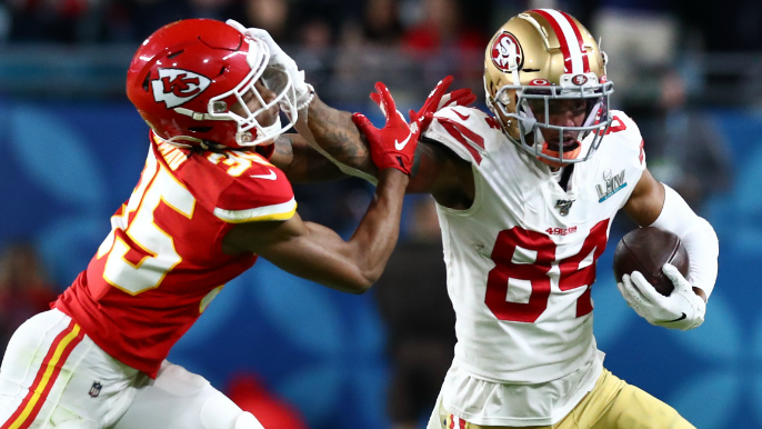Kendrick Bourne returning to 49ers on one-year tender
