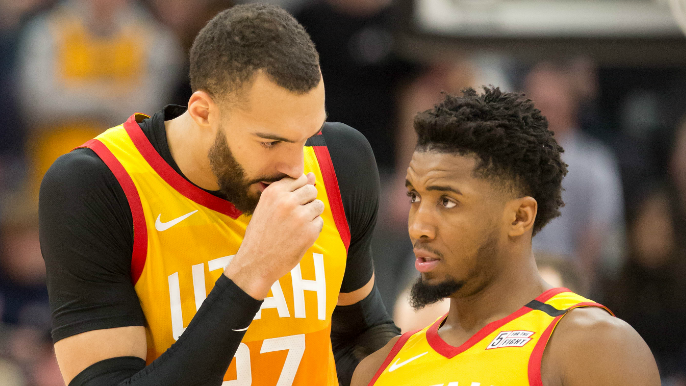 Rudy Gobert-Donovan Mitchell relationship 'unsalvageable' after coronavirus [report]