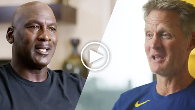 Kerr, Jordan open up on what led to practice fight before 1995 season