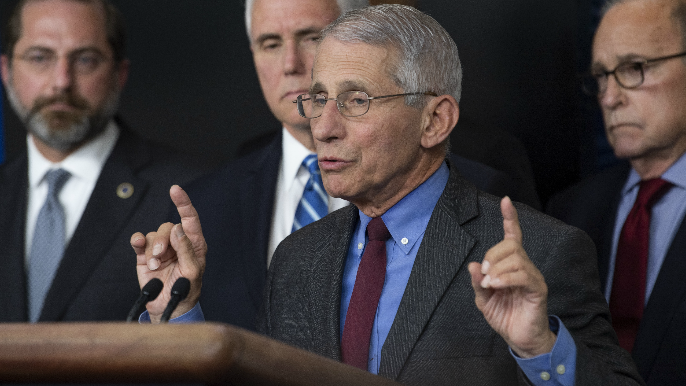 Dr. Anthony Fauci discusses prospect of NFL season starting on time