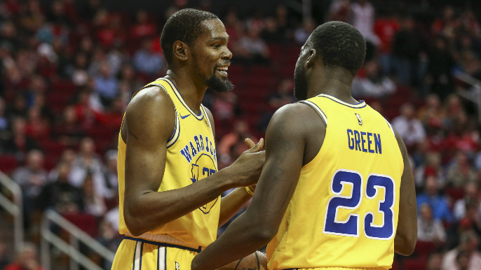 Durant's agent responds to Draymond's criticism of KD's exit