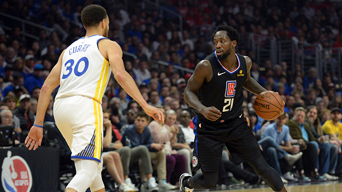 Patrick Beverley takes shot at Stephen Curry on Twitter, implies he 'can't guard anyone'