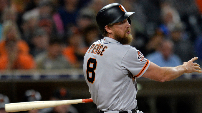 Backflips and an aligned soul: Hunter Pence shares great story of why he's No. 8