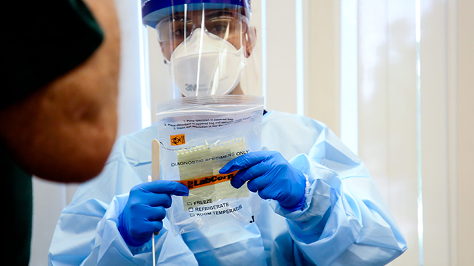 NBA takes steps to create league-wide coronavirus testing program