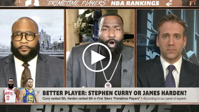 Kendrick Perkins explains why James Harden is better than Stephen Curry