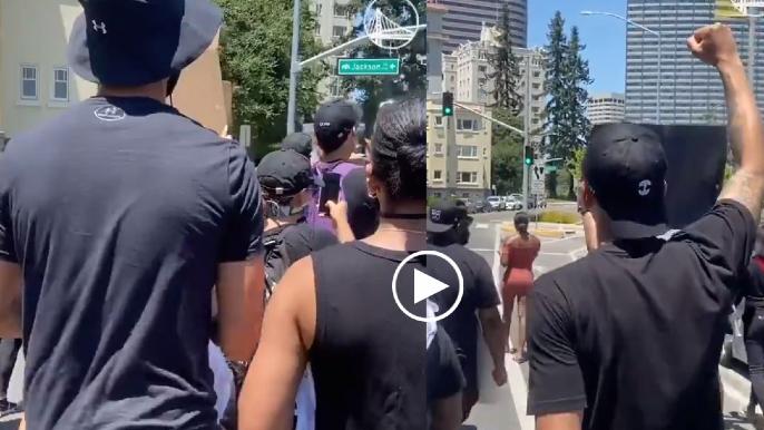 Steph, Ayesha Curry, Klay Thompson, plenty of Warriors join Oakland protest