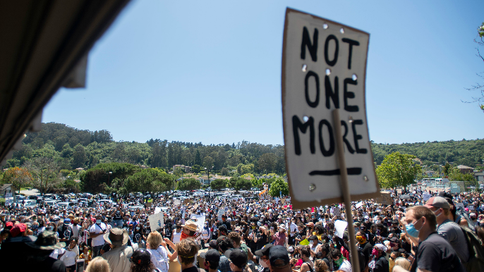 Murph: Protest in Marin City an exercise in learning how much I did not know