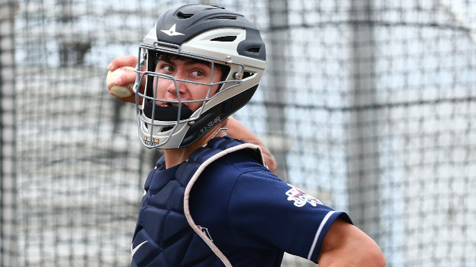 MLB Pipeline's Jim Callis breaks down odds of Giants taking another catcher in first round