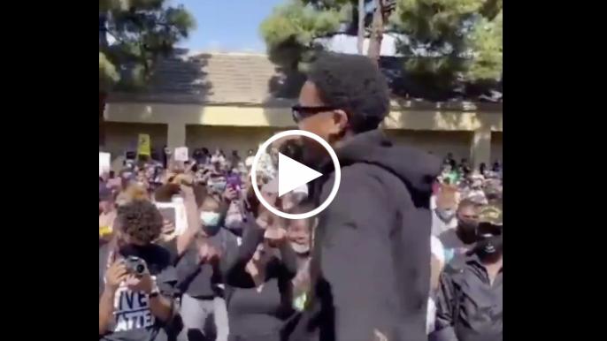 49ers' Kendrick Bourne speaks at Black Lives Matter rally in Bay Area