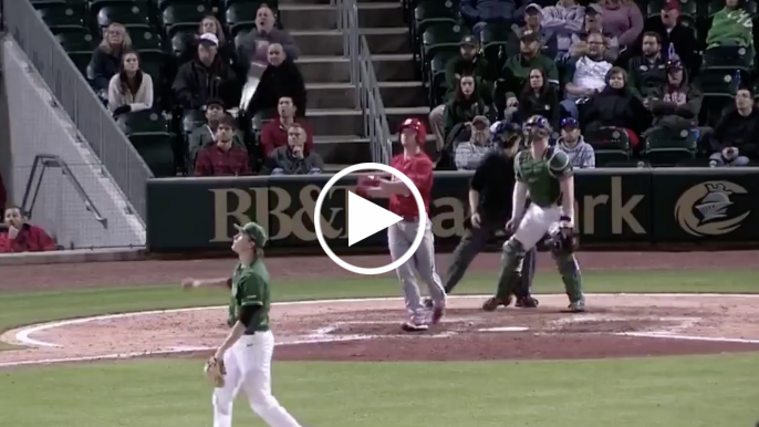 Watch newest Giant Patrick Bailey's monster bat flip after towering home run