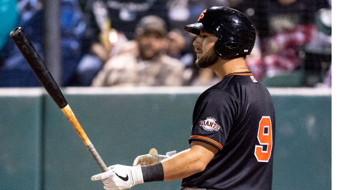Giants don't view Joey Bart as next up after Buster Posey opts out of season