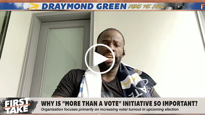 Draymond Green says LeBron James 'arguably the greatest player of all time,' should run for president