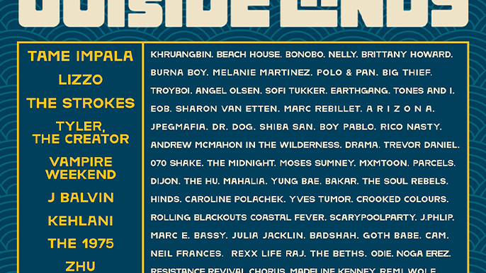 Outside Lands cancels 2020 show, releases lineup for August 2021